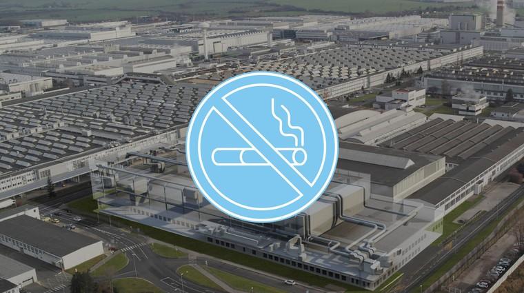 Škoda uvaja prepoved kajenja v domači tovarni (foto: Škoda)