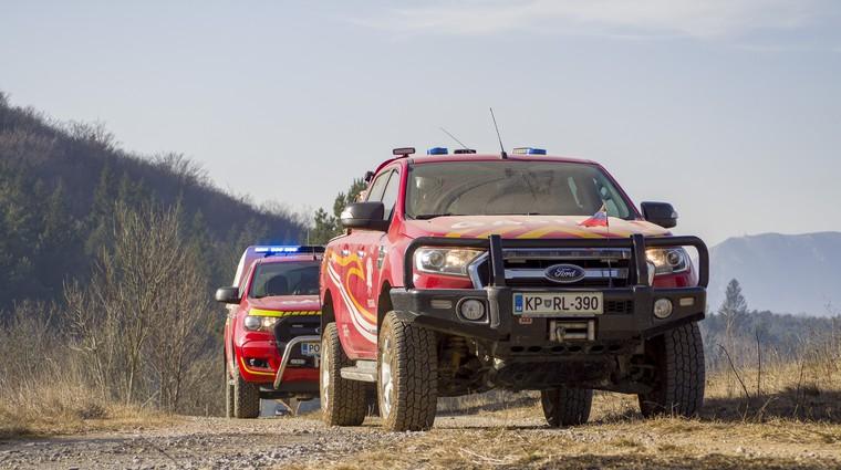 Slovenski gasilci v središču Fordove oddaje posvečene reševalcem po Evropi (foto: Ford)