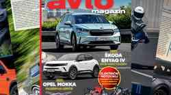 Izšel je novi Avto magazin: kaj storiti, ko izgubimo ključe; kako pravilno prevažati male živali; test: Škoda Enyaq