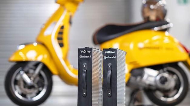 Continental in Varta s skupnimi močmi vstopata v svet skuterjev (foto: continental)