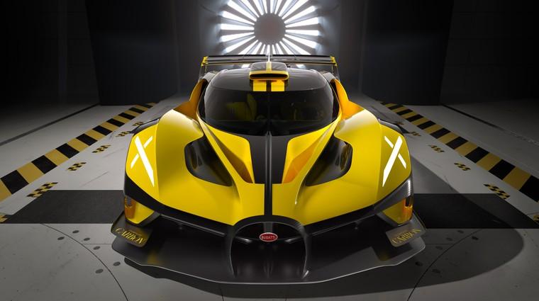 Premiera: Bugatti Bolide – dirkalnik za štiri milijone (foto: Bugatti)
