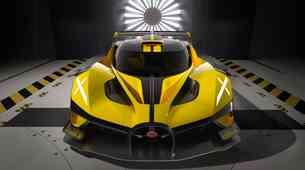 Premiera: Bugatti Bolide – dirkalnik za štiri milijone