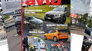 Izšel je novi Avto magazin: Polnjenje električnih vozil v večstanovanjskih objektih; vozila s prednostjo... testi: Subaru Outback, Hyundai Kona EV...