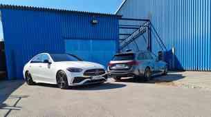 Novo v Sloveniji: Mercedes-benz razred C - Odkrito pogleduje k največjemu
