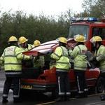 Intervencijska vozila na nujni vožnji - teh pravil se morate držati, ko jih zagledate za seboj! (foto: Newspress)