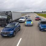 Intervencijska vozila na nujni vožnji - teh pravil se morate držati, ko jih zagledate za seboj! (foto: Mercedes-Benz Ag - Global Commun)