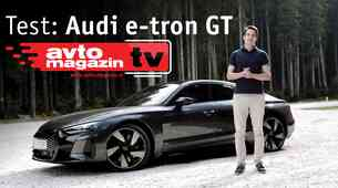 Video test: Audi e-tron GT - Avto Magazin TV