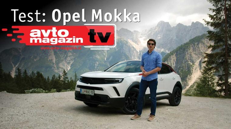 Video test: Opel Mokka - Avto magazin TV (foto: Nik Gradišnik)