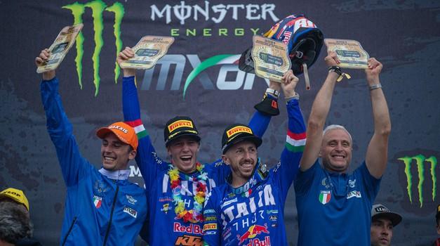 MXON: zmagoslavje Italijanov, Slovenci brez uvrstitve v A finale (video) (foto: Ray Archer (KTM))