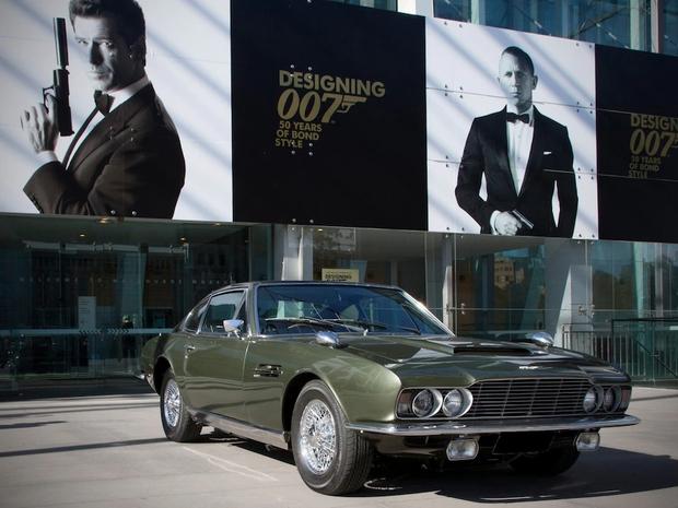 1969 Aston Martin DBS-6, On Her Majesty's Secret Service Leto prodaje: 1978 Vrednost standardnega vozila: 3.050 GBP Vrednost Bondovega vozila …