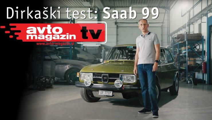 Video test: Saab 99 - Avto magazin TV