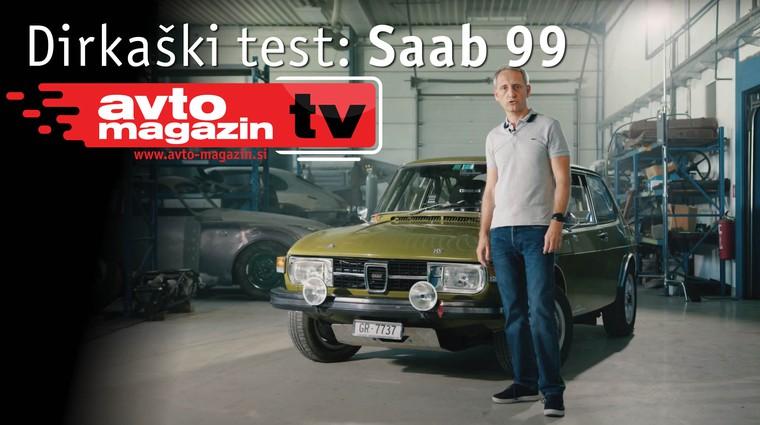 Video test: Saab 99 - Avto magazin TV (foto: Nik Gradišnik)