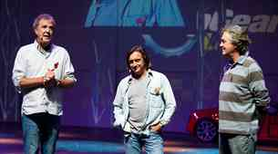 Član legendarne trojice Top Gear je pripravljen na novo oddajo. Tu je napovednik