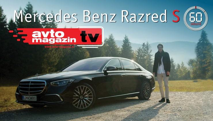 60 sekund: Mercedes-Benz Razred S - Avto magazin TV
