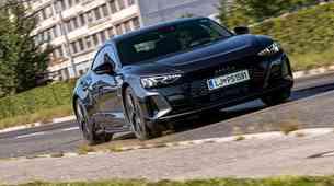 To je tehnološko najbolj napreden Audi! (test: Audi e-tron GT)